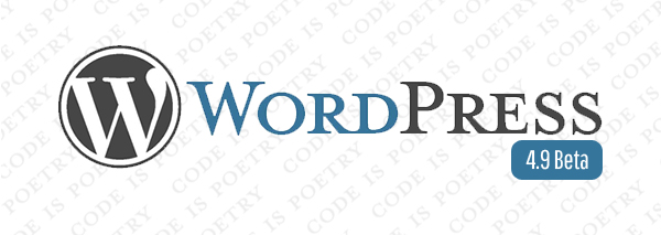 WordPress beta 4.9 Torino Meetup